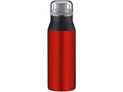 Alfi nerezová láhev na pitís praktickým pítkem new Pure Red 600 ml 1