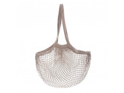 Sass & Belle praktická nákupní taška síťovka Grey String 1