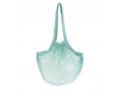 Sass & Belle praktická nákupní taška síťovka Green String 1