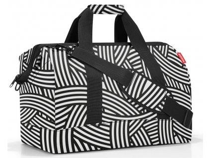 Reisenthel prostorná cestovní taška Allrounder L zebra 1