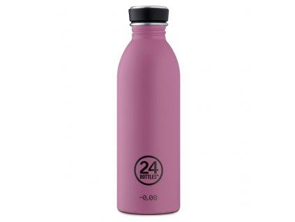 24Bottles moderní nerezová láhev Urban Bottle 500 ml Mauve 1