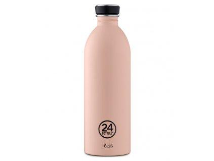 24Bottles lehká nerezová láhev Urban Bottle 1000 ml Dusty Pink 1