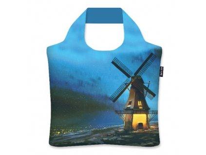 ECOZZ prostorná skládací nákupní taška Windmill 1