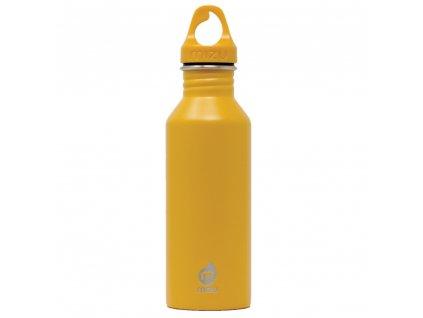 MIZU nerezová láhev na pití M5 enduro harvest gold 530 ml 1