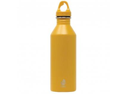 MIZU stylová nerezová láhev na pití M8 Enduro harvest gold 800 ml