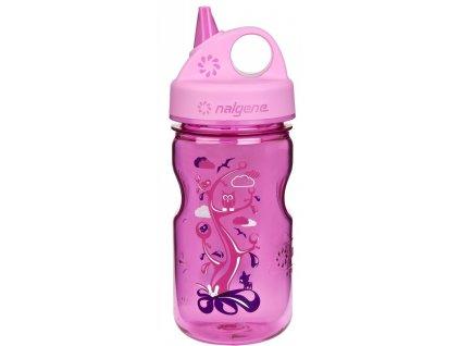 NALGENE dětská láhev na pití Grip'n Gulp 350 ml woodland 1