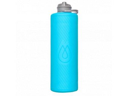 Hydrapak odolná sbalitelná láhev Flux malibu blue o objemu 1,5 litru 1
