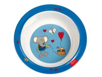 Sigikid melaminová mistička pro malé děti slon Lolo Lombardo 1