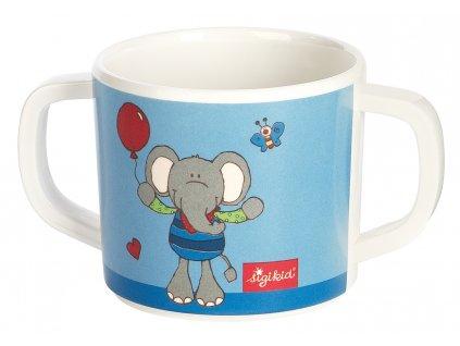 Sigikid melaminový hrníček pro malé děti slon Lolo Lombardo 1