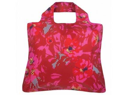Envirosax lehká a odolná skládací nákupní taška Mai Tai 1