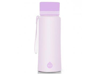 EQUA plastová láhev na pití Plain Iris 600 ml 1