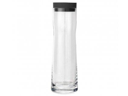 Blomus skleněná karafa na vodu Splash černá 1l 1