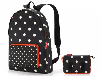 Reisenthel skládací batoh Mini Maxi Rucksack mixed dots 1