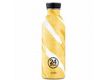 24Bottles designová nerezová láhev Urban Bottle 500 ml Amber Deco 1