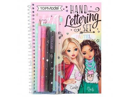 Top Model kreativní sešit Set písmomalířství pro tvořivé děti 1