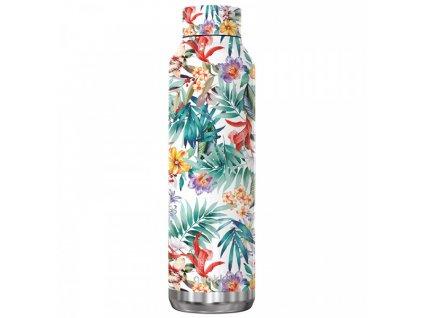 Quokka nerezová termoláhev Solid Kids 630 ml orchid garden 1