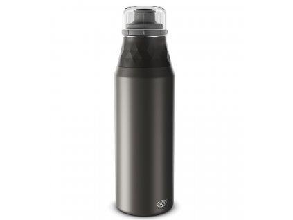Alfi nerezová láhev ENDLESS caviar v matné černé barvě 1