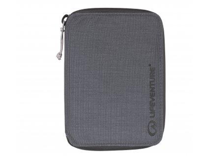 Lifeventure malá cestovní peněženka RFiD Mini Travel grey 1