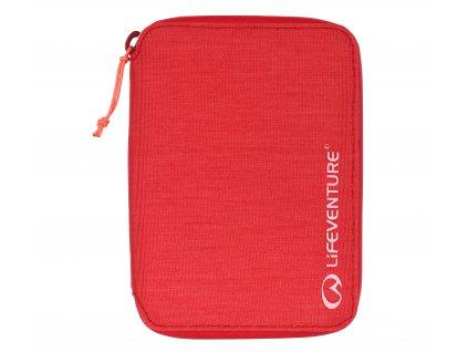 Lifeventure cestovní peněženka RFiD Mini Travel rasberry 1