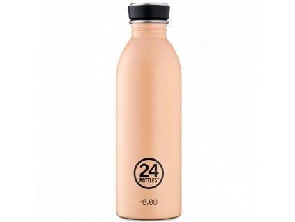 24Bottles nerezová láhev na pití v barvě pouštního písku 1