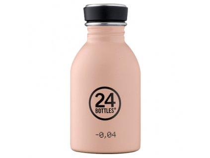 24Bottles nerezová láhev Urban Bottle 250 ml Dusty Pink 1