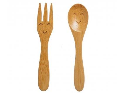 Sass & Belle kvalitní dětský bambusový příbor Enjoy 1