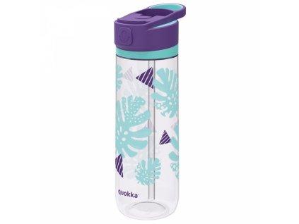 Quokka plastová láhev na pití quick Sip 830 ml tropicool 1