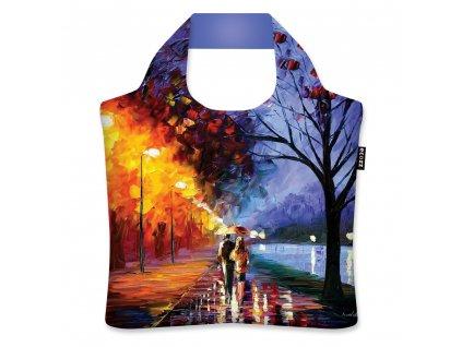 ECOZZ skládací nákupní taška Alley by the Lake od Leonida Afremova 1