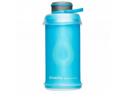 Hydrapak flexibilní skládací láhev Stash Bottle 750 ml Malibu Blue 1