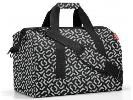 Reisenthel prostorná cestovní taška Allrounder L signature black 1