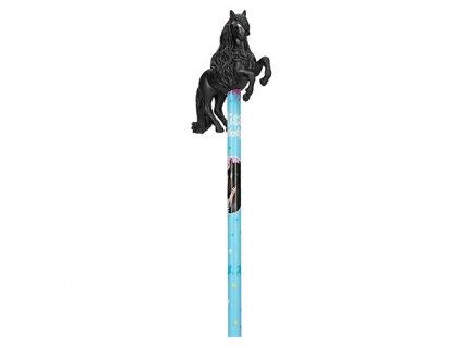 Miss Melody tužka s ozdobou černého koně 1