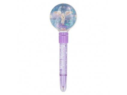 Miss Melody kuličkové pero pro holky fialové 1