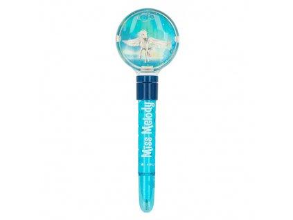 Miss Melody kuličkové pero pro holky modré 1