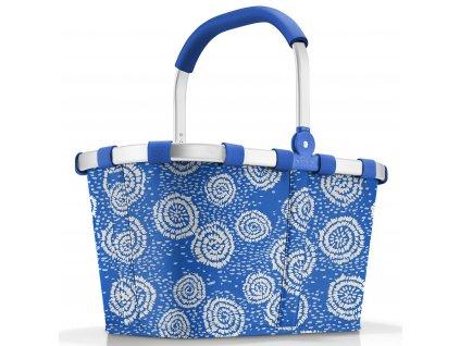 Reisenthel kvalitní nákupní košík Carrybag batik strong blue 1
