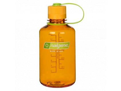NALGENE plastová láhev na pití Narrow Mouth 500 ml Clementine 1