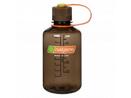 NALGENE plastová láhev na pití Narrow Mouth 500 ml Woodsman 1