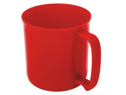GSI Outdoors plastový hrnek Cascadian Mug červený