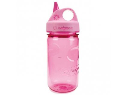NALGENE dětská láhev Grip'n Gulp 350 ml Pink 1