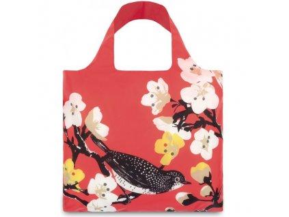 LOQI - skládací nákupní taška Cherry