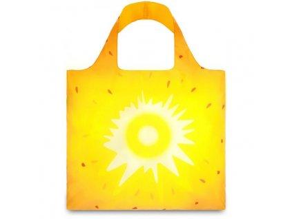 LOQI - skládací nákupní taška Pineapple