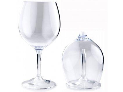 GSI Outdoors sklenička na červené víno Nesting Red Wine Glass