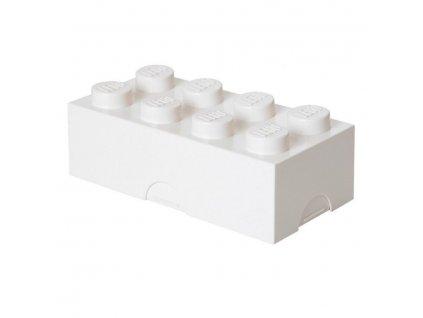 LEGO box na svačinu bílý