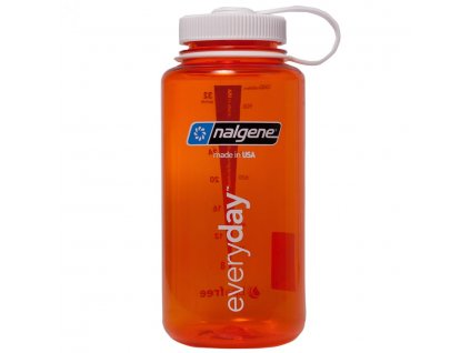 NALGENE - láhev na pití Wide Mouth 1000 ml Orange