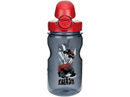 NALGENE dětská láhev On The Fly 350 ml Gray Smash 1