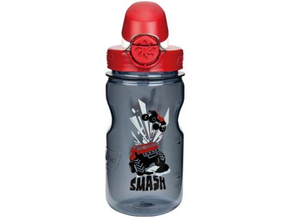 NALGENE dětská láhev On The Fly 350 ml Gray Smash 1
