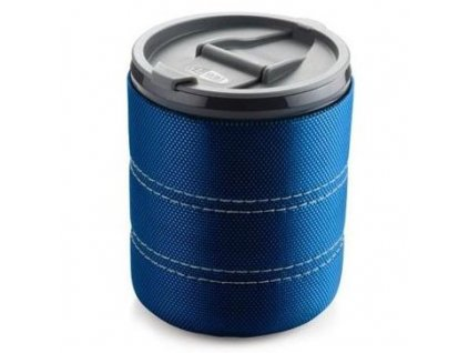 GSI - outdoorový hrnek Infinity Backpacker Mug 500 ml clear blue