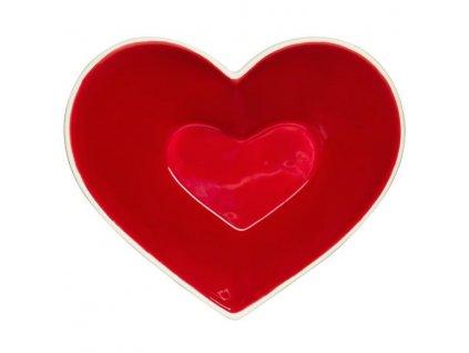 Sagaform - dárková porcelánová miska Sweetheart