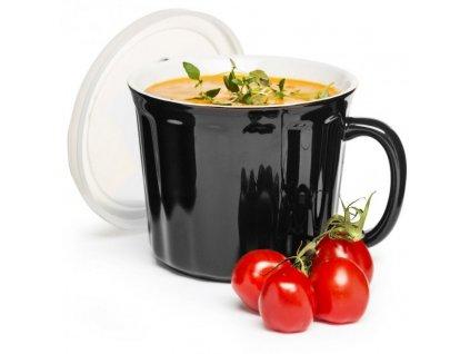 Sagaform - hrnek na polévku Soup Mug 0,5l černý