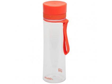 Plastová láhev na vodu Aladdin Aveo 600 ml červená