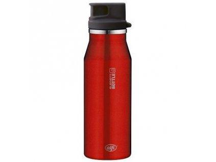 Alfi - nerezová lahev na pití red 600 ml